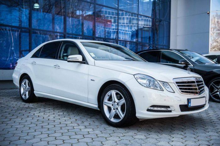 E Class W212 white