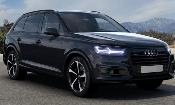 Audi Q7 черный