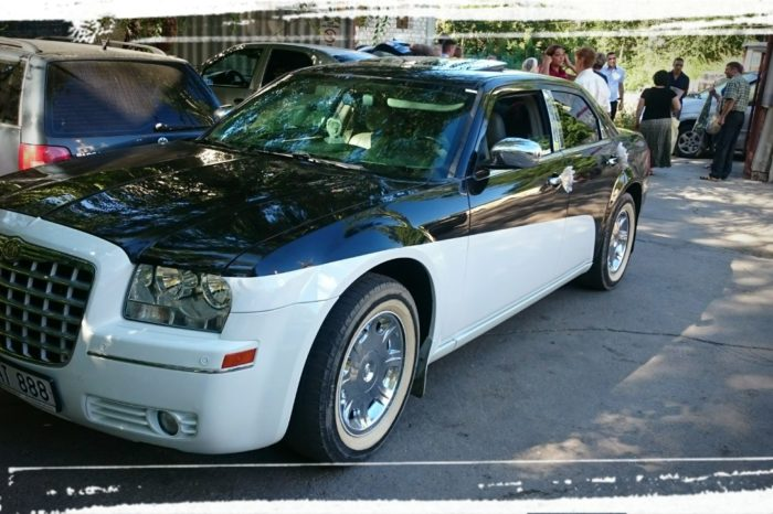 Chrysler C300 alb&negru