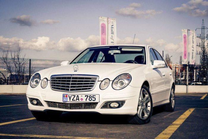 E Class W211 белые