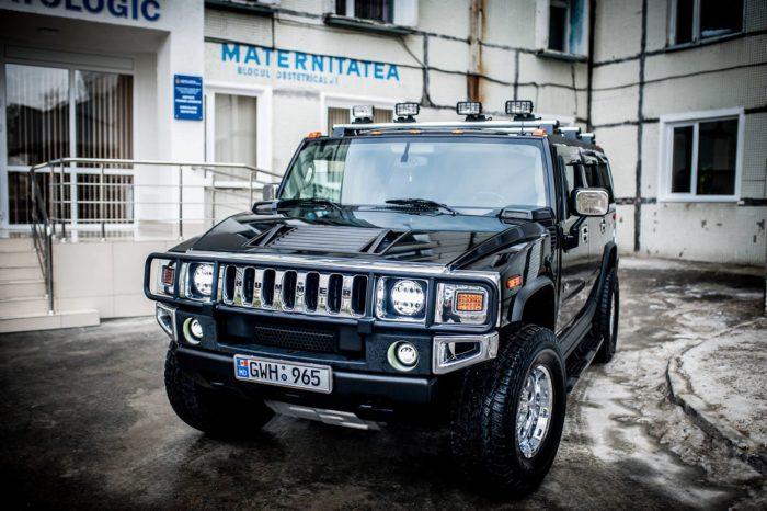 Hummer H2 черные
