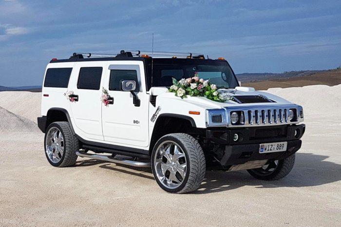 Hummer H2 белые