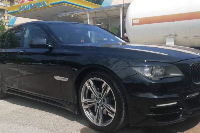BMW 7 F01 negre